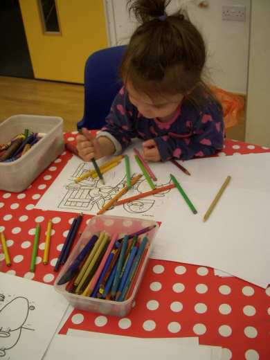 Activities colouring