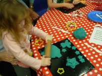 Playdough stars
